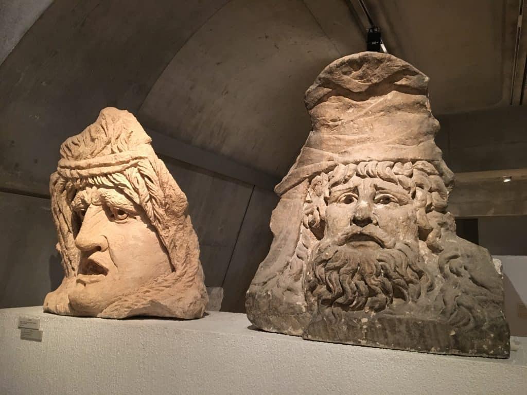 Roman museum in Lyon