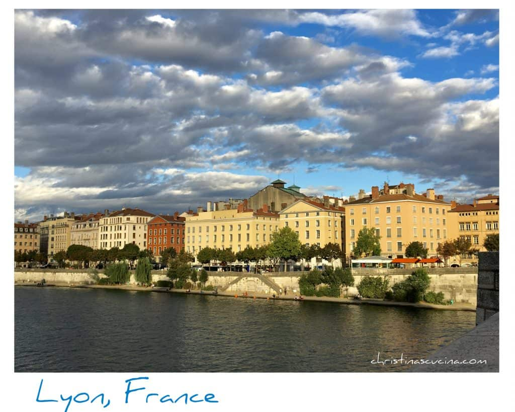 Lyon, France. Saone River