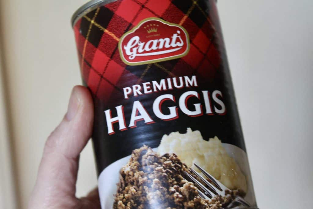 Grants Haggis can tin photo