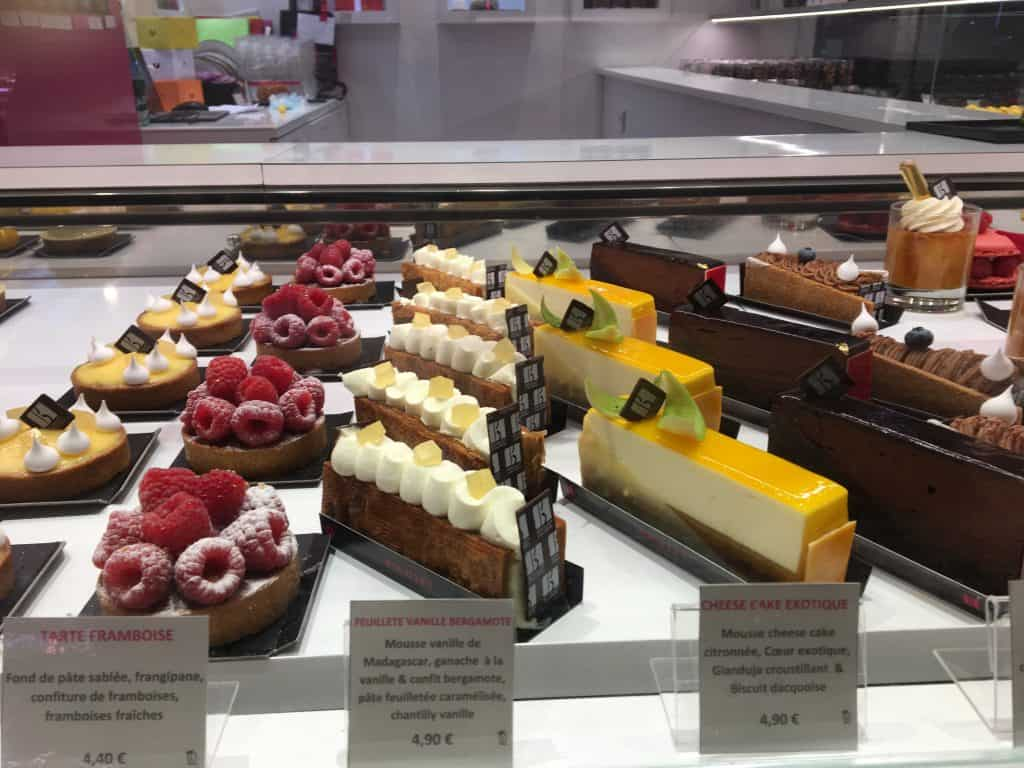 Pastries in Lyon