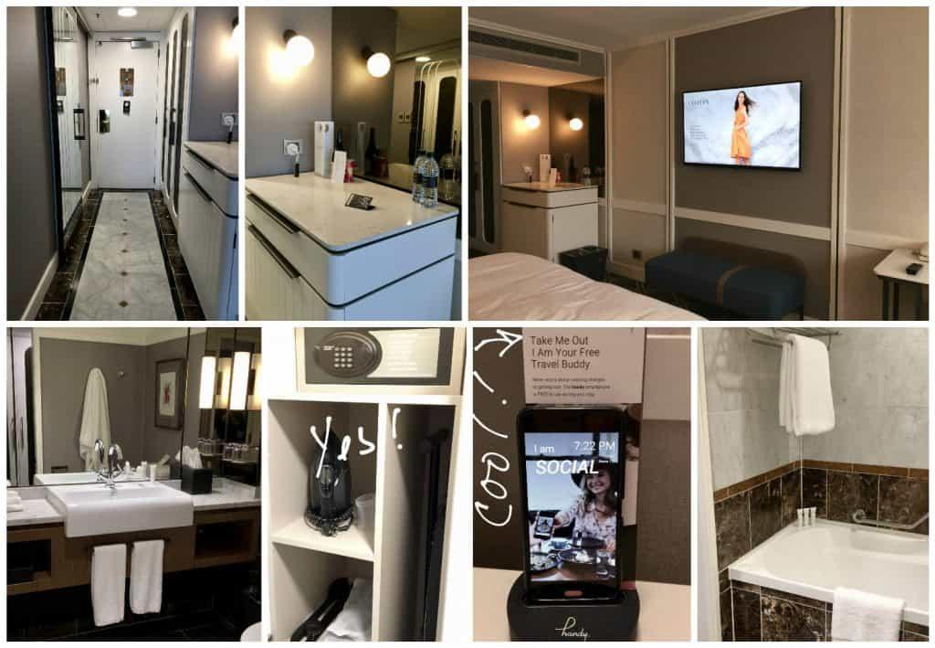 Cordis hotel in Auckland hotel room