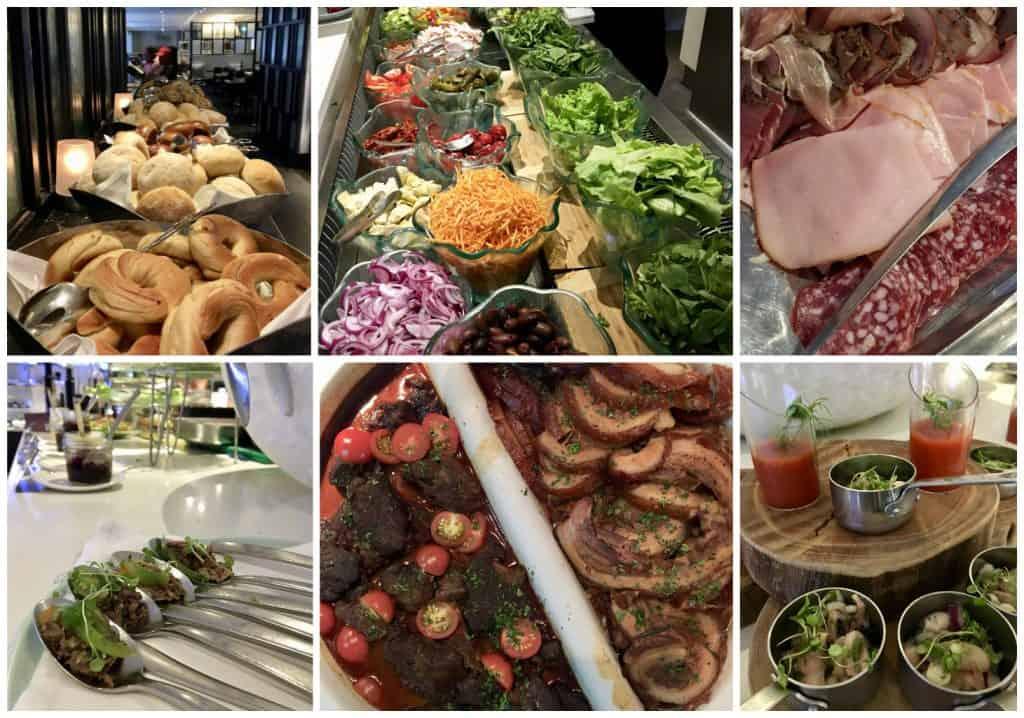 Cordis Eight buffet