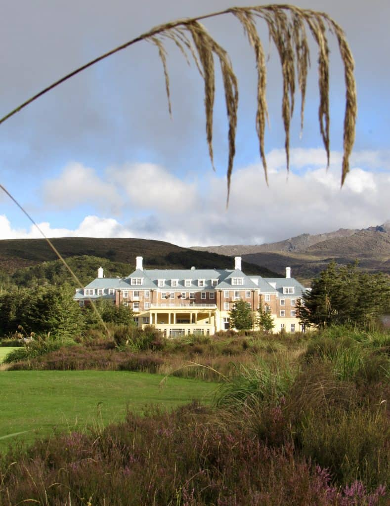 Tongariro Chateau Hotel in Tongariro National Park