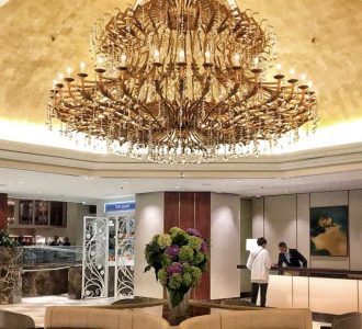 Cordis Hotel in Auckland, New Zealand and Eight Restaurant