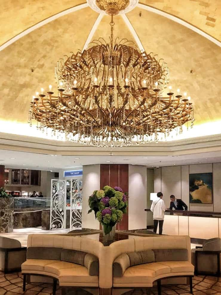 The Cordis hotel in Auckland lobby