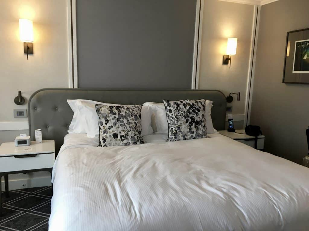 room at the Cordis Hotel in Auckland