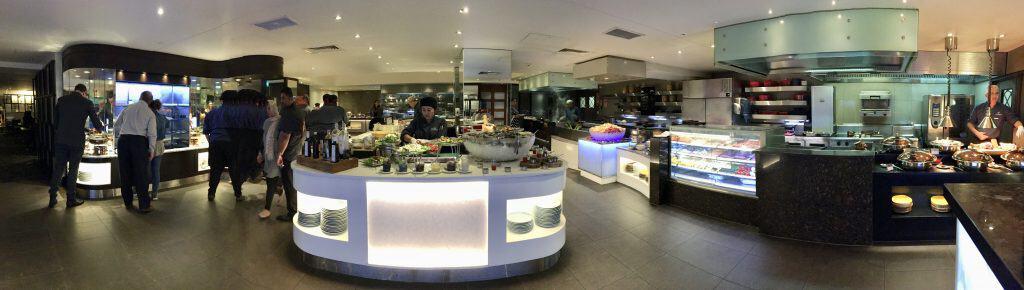 Eight restaurant at Cordis Auckland