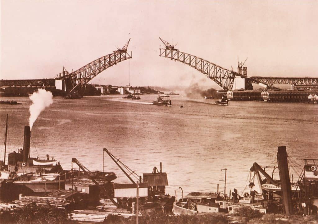 Building the Sydney Harbour Bridge