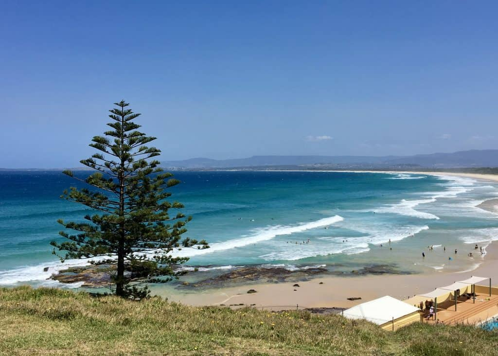 Beach at Port Kembla