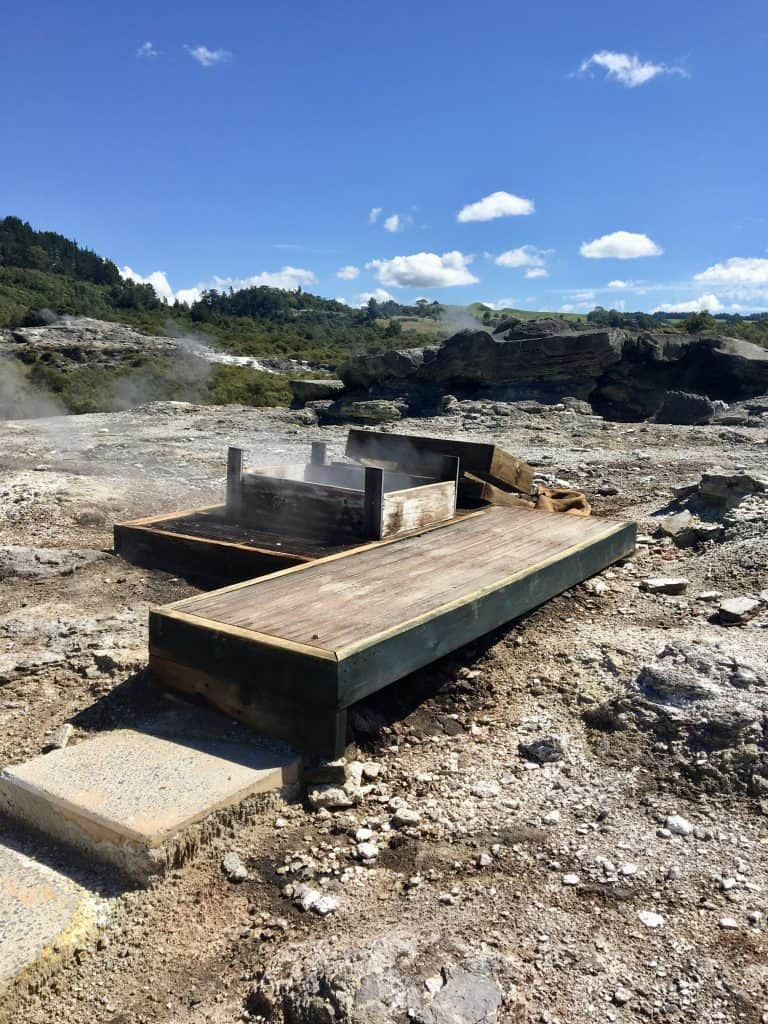 Te Puia Steam Vent cooking