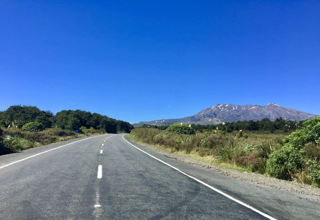 Driving from Tongariro NP to Rotorua