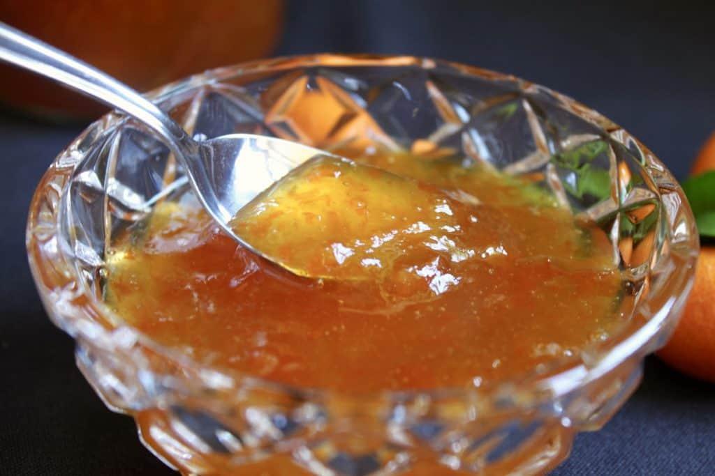 kumquat jam recipe in jars