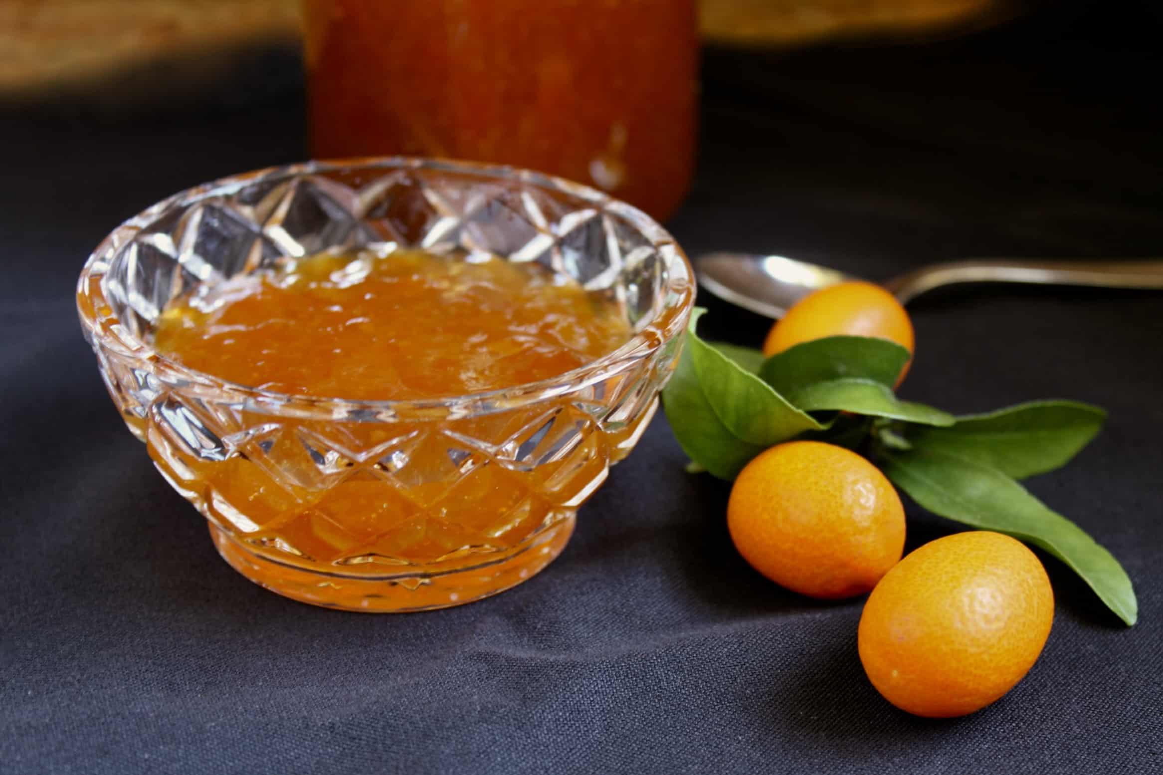 Easy kumquat jam