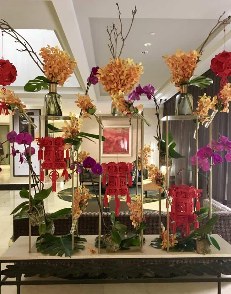Lobby Shangri-La Hotel in Sydney