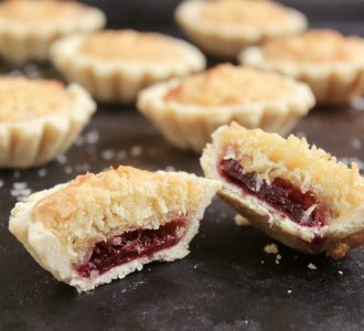 Coconut Tartlets (Scottish Coconut and Raspberry Jam Tarts)