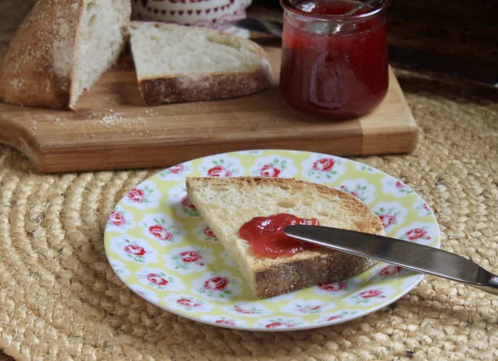 Easy rhubarb jam recipe