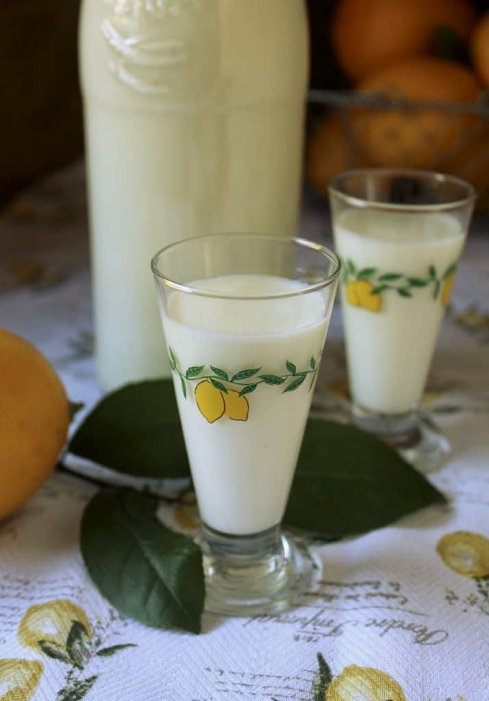 24 Hour Easy Limoncello Recipe Best Homemade Crema Di Limoncello Creamy Version Christina S Cucina