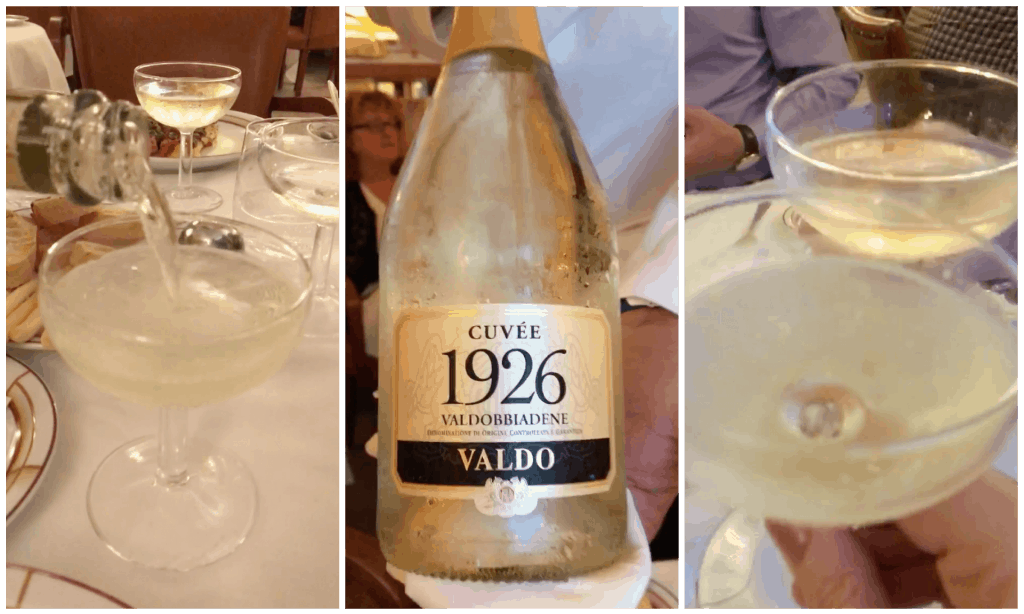 Harry's Bar and Valdo Prosecco