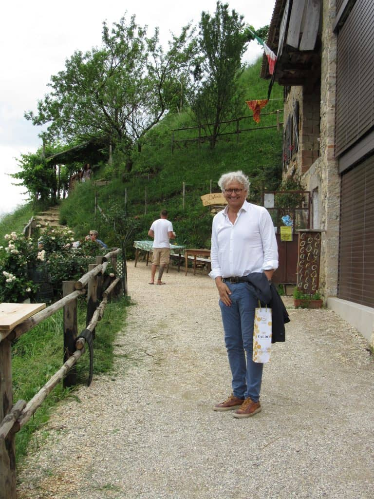 A day trip to Valdobbiadene with Paolo from Valdo Prosecco