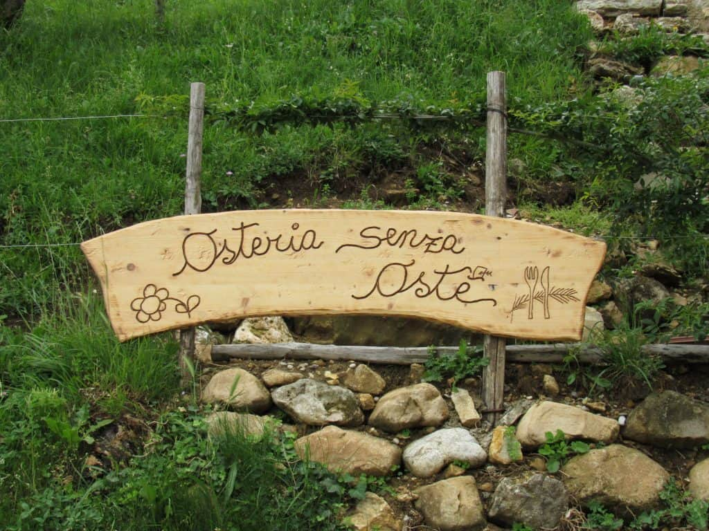 A day trip to Valdobbiadene and Osteria Senz'Oste