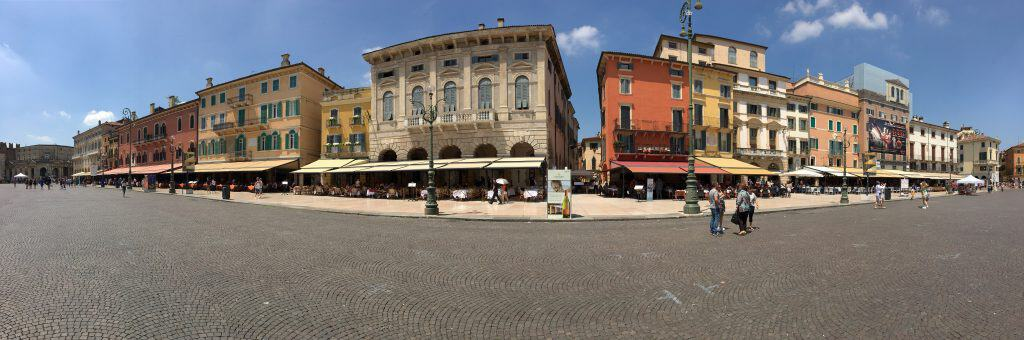 Panorama of Verona