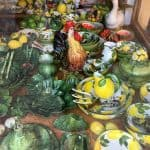 Sirmione shop selling ceramics