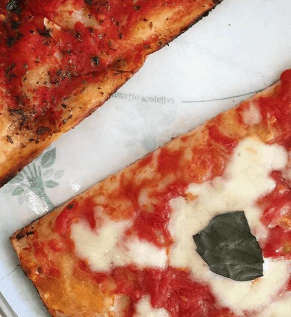 Pizza picture, Rome