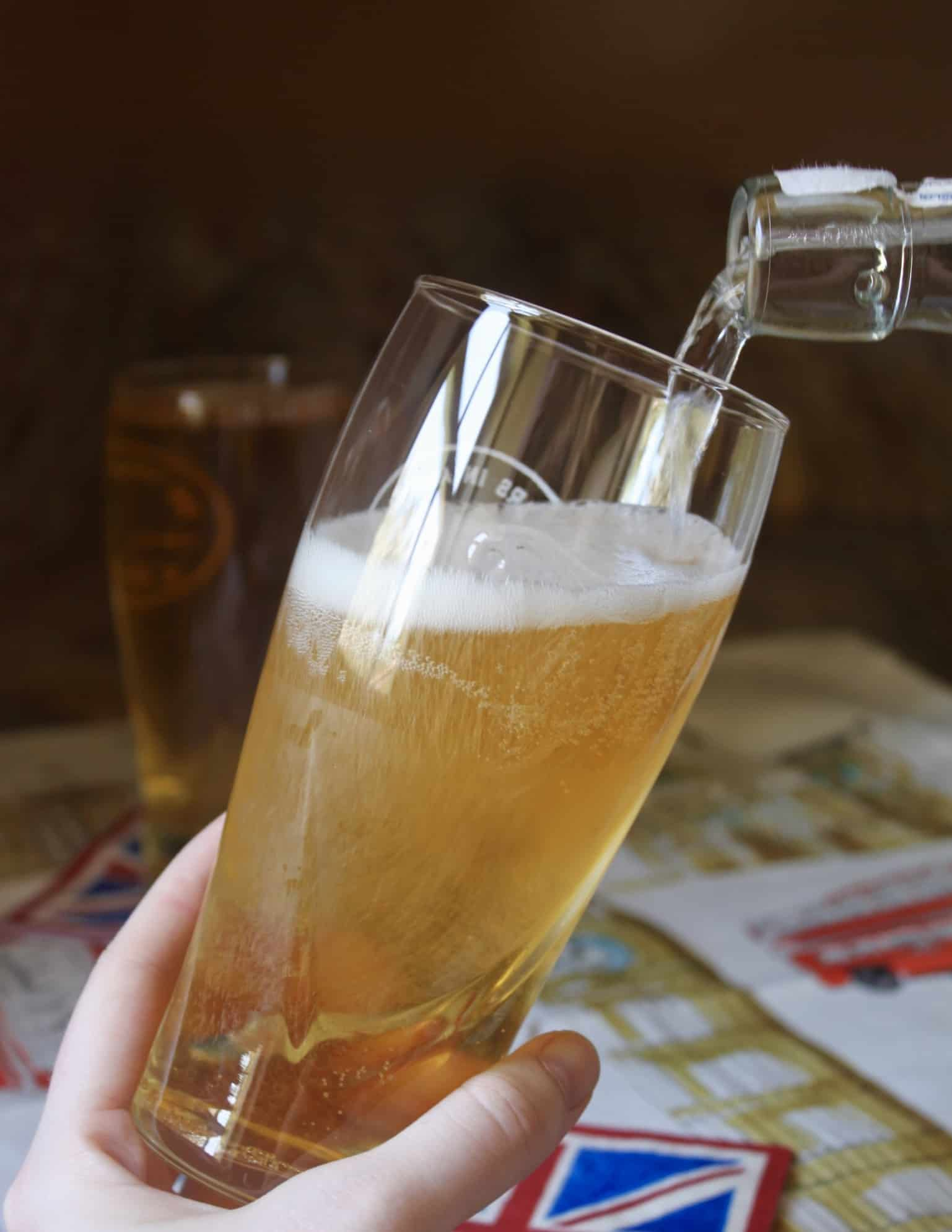 How To Make A Traditional British Shandy The Proper Way