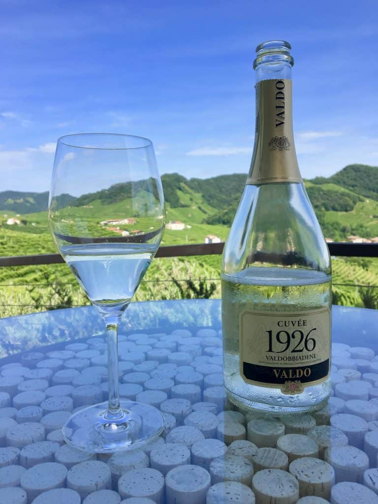 A day trip to Valdobbiadene and Valdo 1926 prosecco
