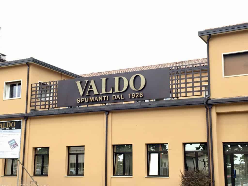 Valdo prosecco winery