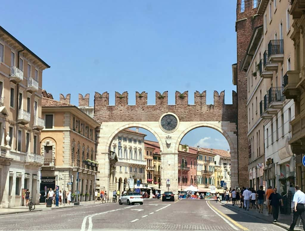 Entrance to the city of Verona
