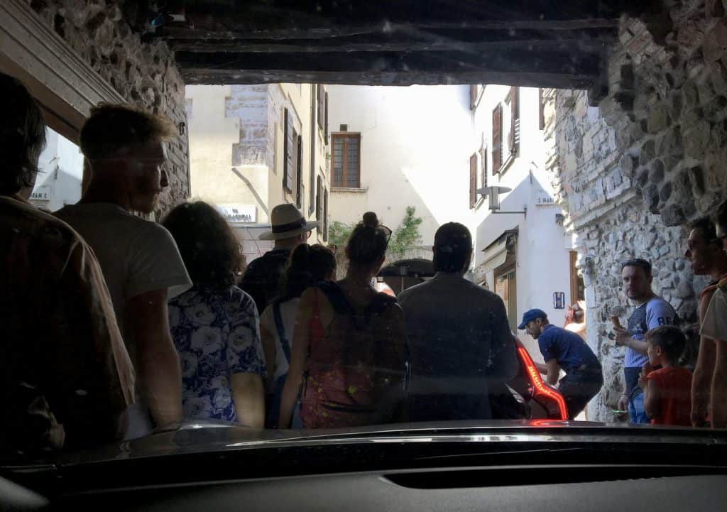 visiting Sirmione by car