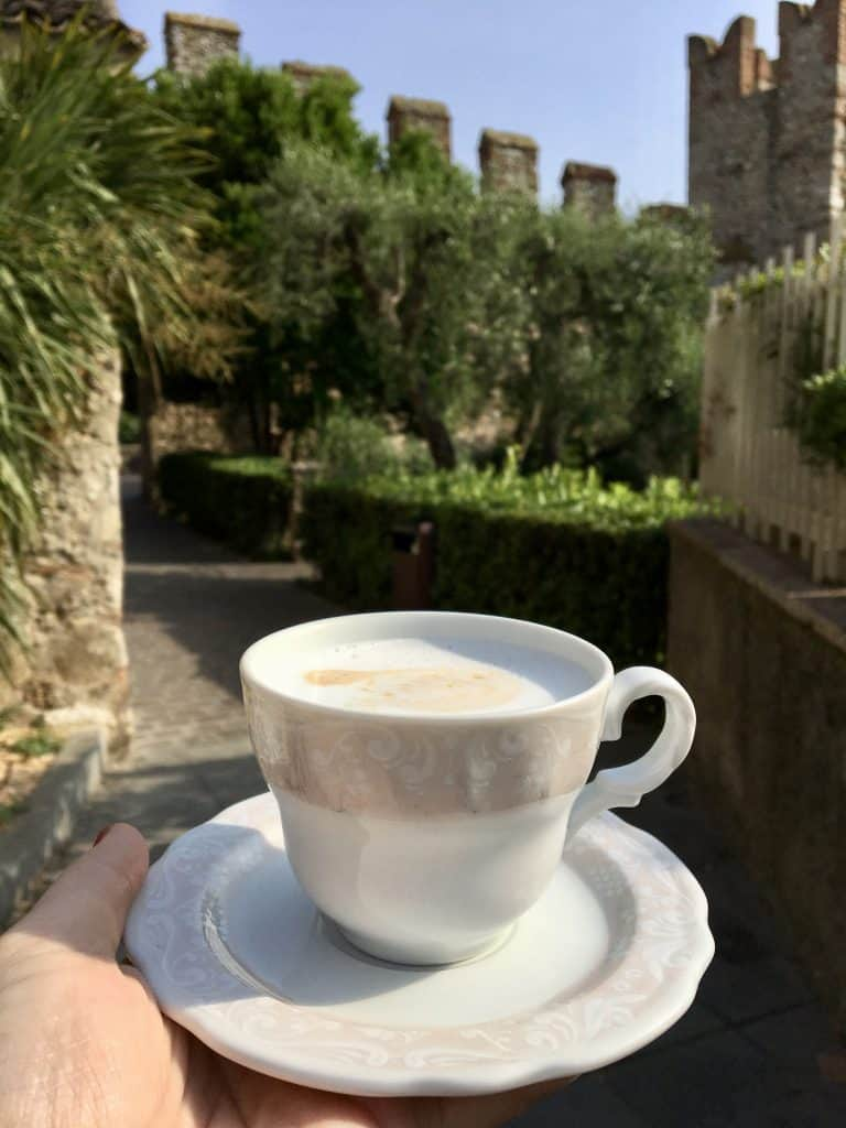 Cappuccino in Sirmione