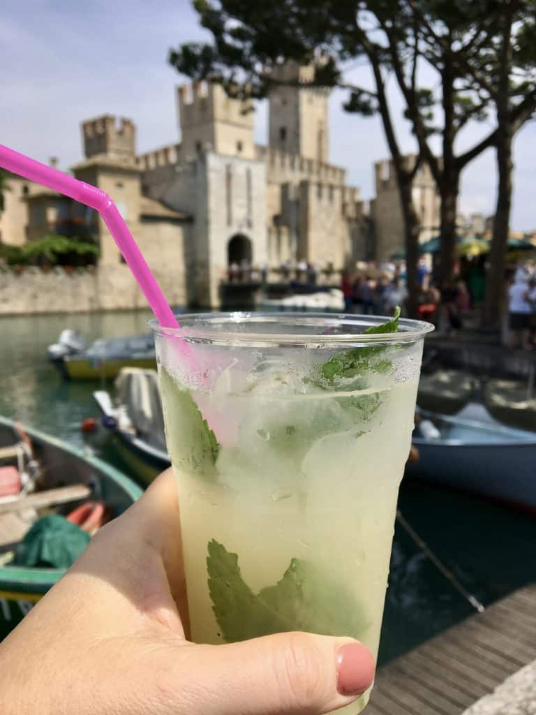 Lemonade in Sirmione