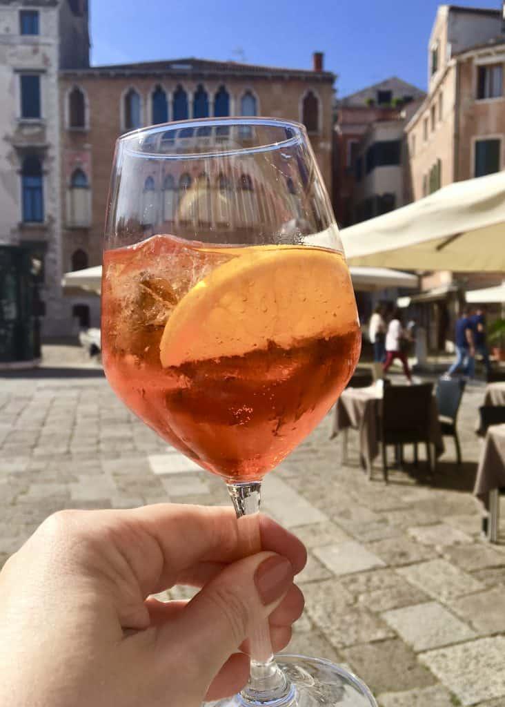 aperol spritz, Venice