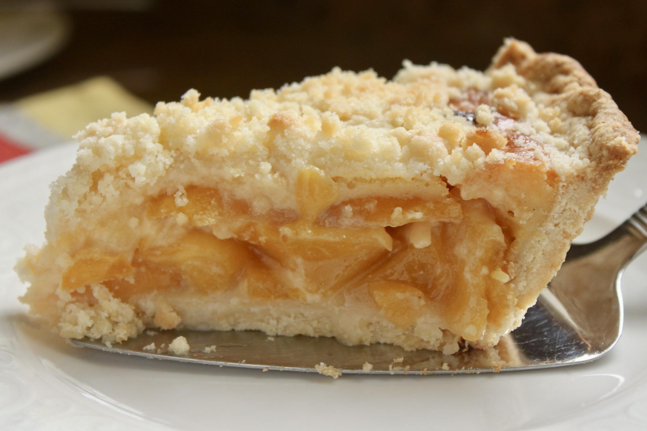 Slice of pie on server