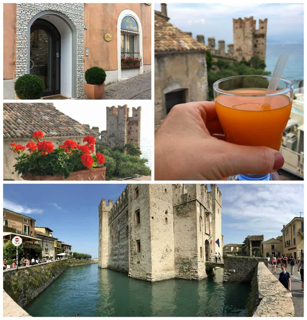 visiting Sirmione by car and Hotel Degli Oleandri
