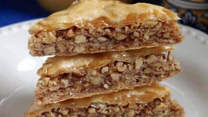 Honey Walnut Baklava Christina S Cucina