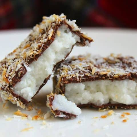 Scottish Macaroon Bars