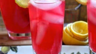 Homemade Cranberry Lemonade