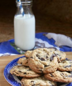 always perfect chocolate chip cookies