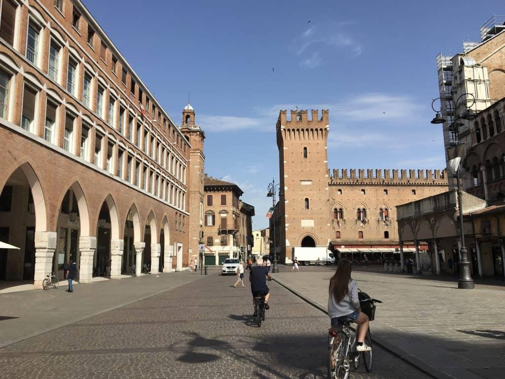 Walkable town center reasons to visit Ferrara