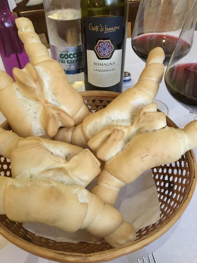 Ferrarese coppia bread