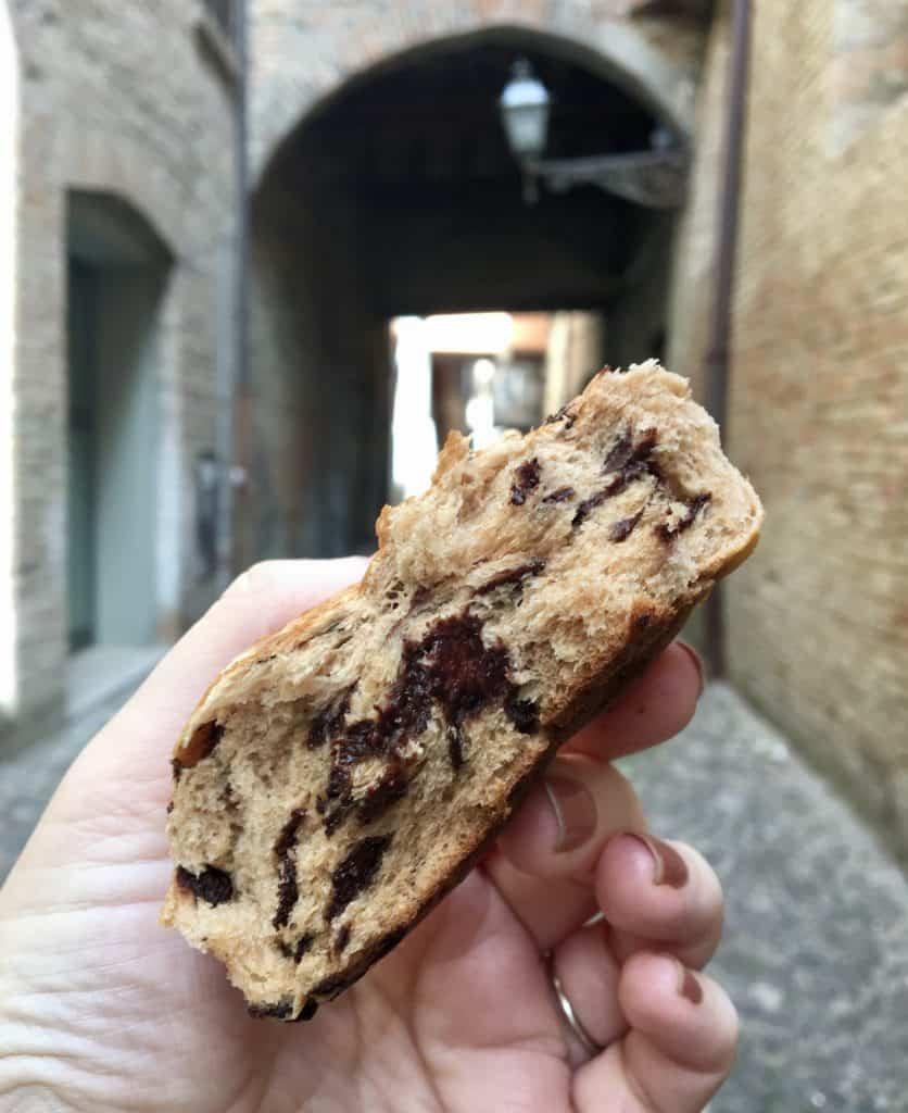 Pastry from Panificio Perdonati, Ferrara