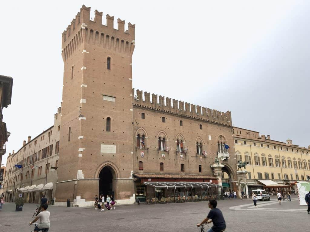 architecture in Ferrara