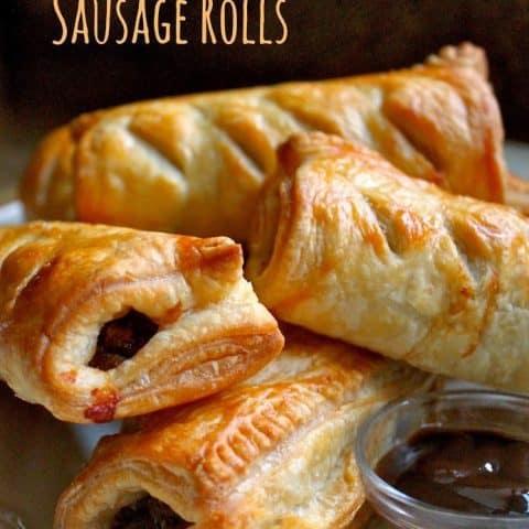 Homemade Scottish Sausage Rolls