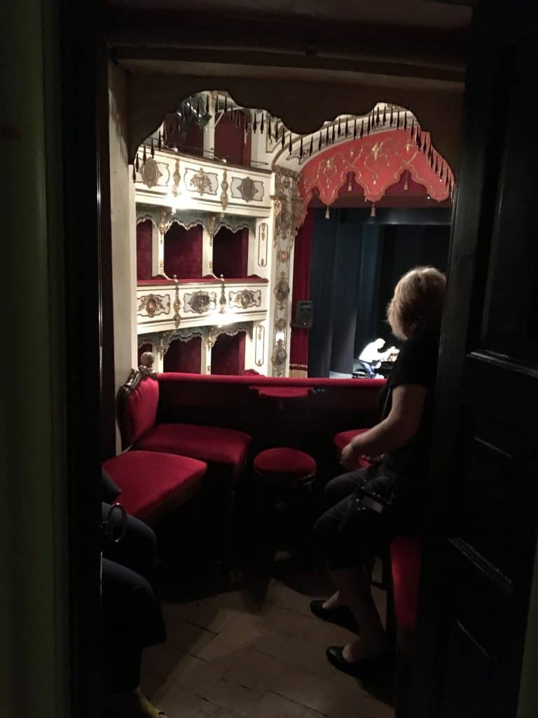 Box at Teatro Verdi