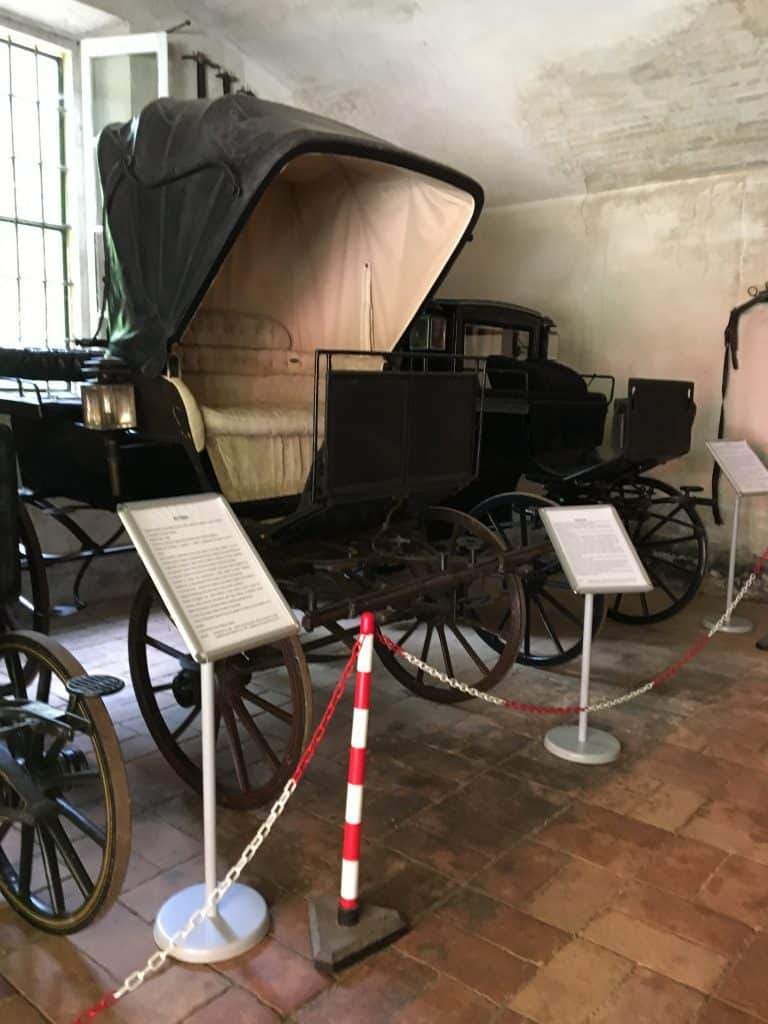 Verdi's carriage house