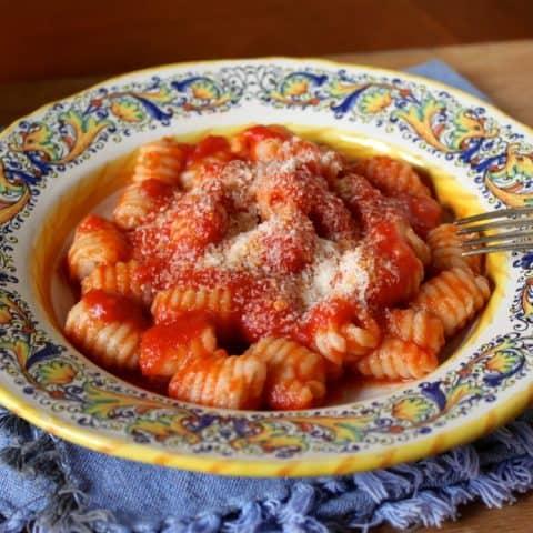 Zia Iolanda's Gnocchi with a Sicilian Oxtail Tomato Sauce Recipe