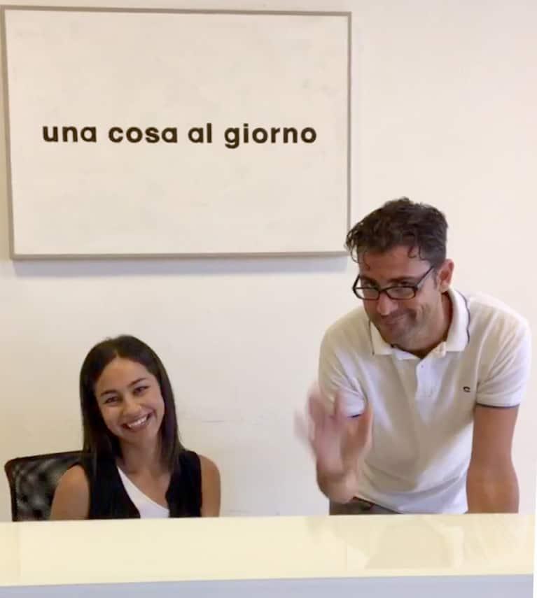 Alessandro and Elena from Palazzo dalla Rosa Prati